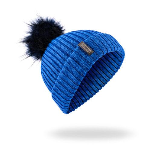 Cobalt Urban Aran Hat Beanie